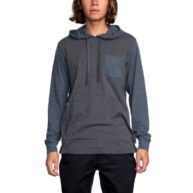 RVCA - Men's Set Up Hood Curren Edition Long Sleeve T-Shirt