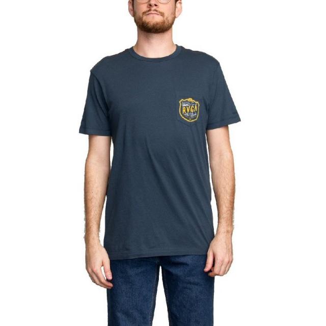 RVCA - Men's Rope Shield Pocket T-Shirt