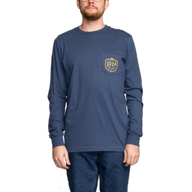 RVCA - Men's Rope Shield Long Sleeve T-Shirt