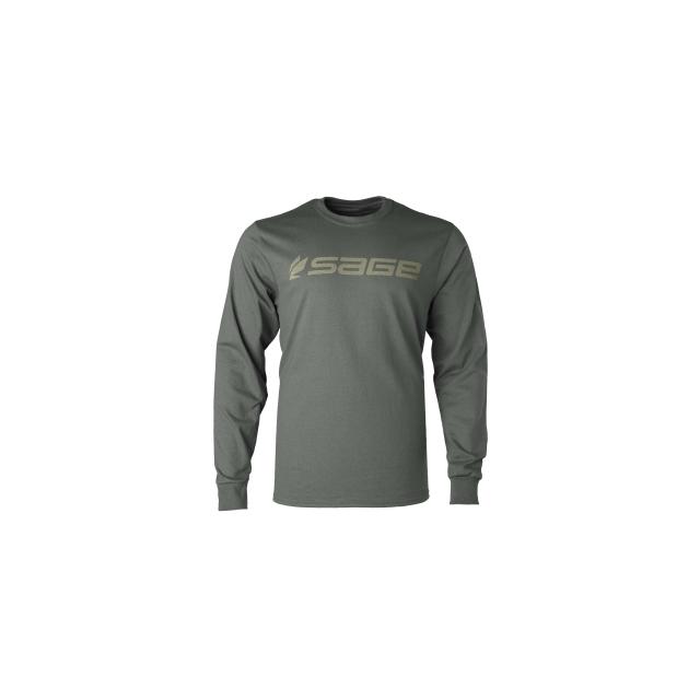 Sage - Logo Long Sleeve Tee - Men's
