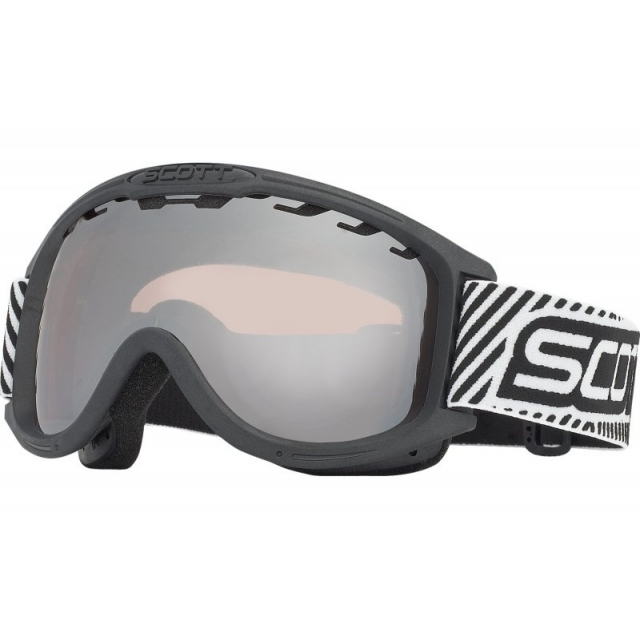 Scott - - Decree Goggles - Black - Black Chrome