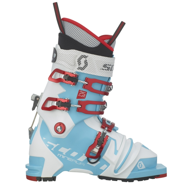 Scott - - Minerva 75mm Wms Boot - 22.5 - Bermuda Blue White