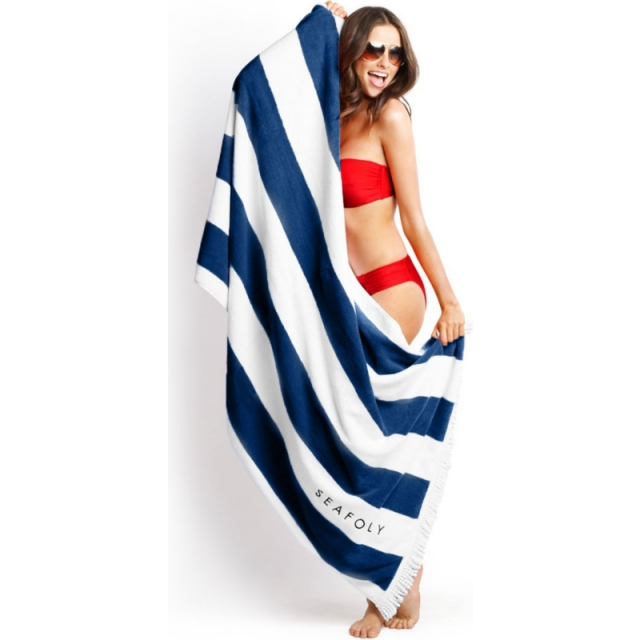 Seafolly - Pool Towel - Sale Indigo One Size