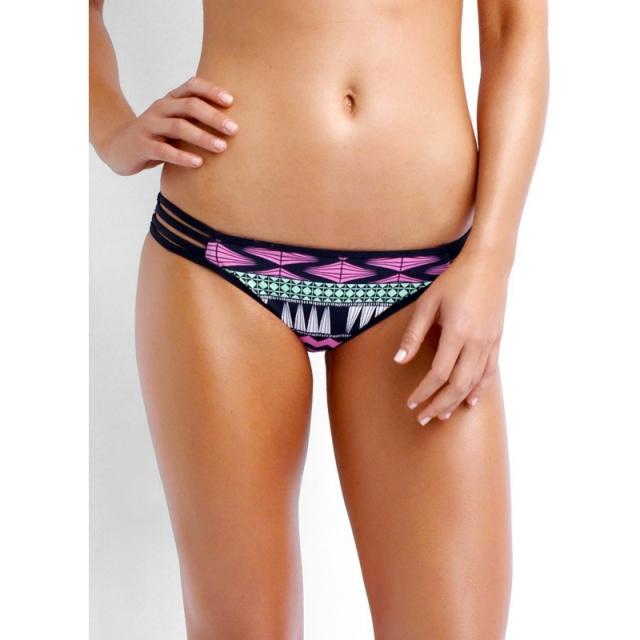 Seafolly - Future Tribe Hipster Bikini Pant - Closeout Fluorescent Melon