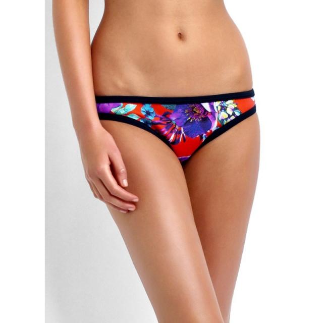 Seafolly - Field Trip Scuba Hipster Bikini Pant - Closeout Tangelo 08