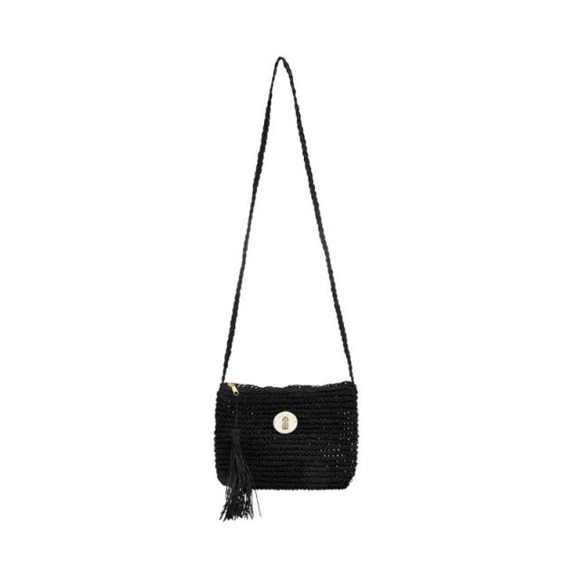 Seafolly - Island Sun Cross Body Bag Black One Size