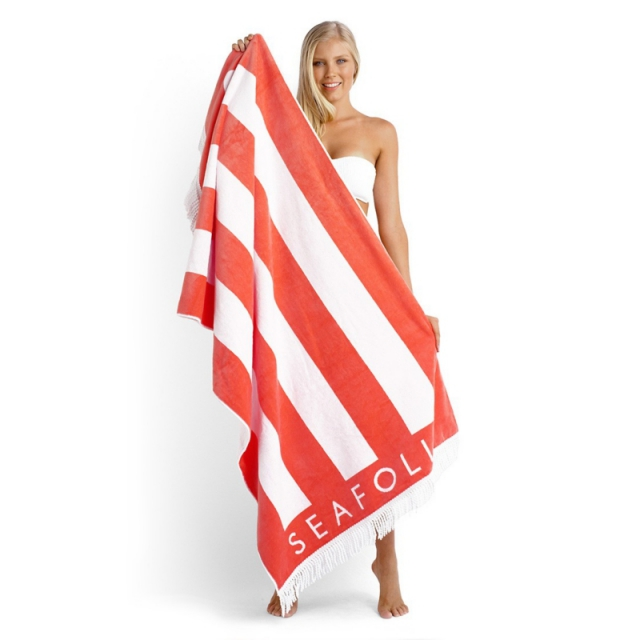Seafolly - Party Trick Towel Nectarine
