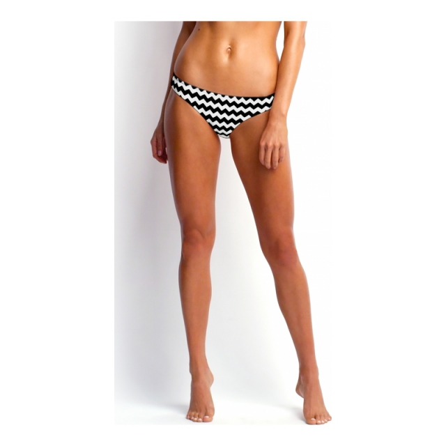 Seafolly - Womens Mod Club Hipster - Sale Black/White 08