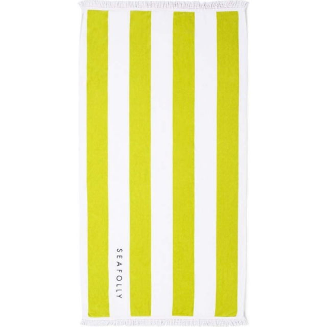 Seafolly - Splash Towel Chartreuse