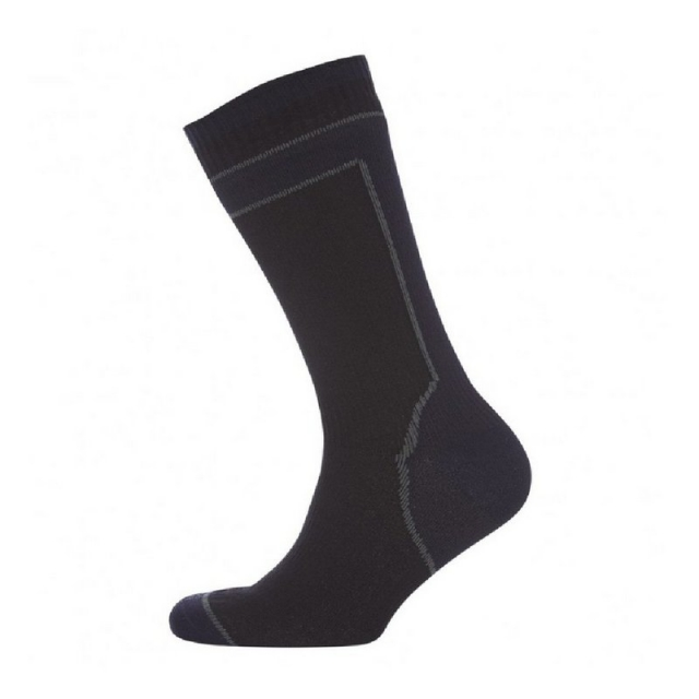 Sealskinz - Men's Mid Weight Mid Length Sock with Hydrostop