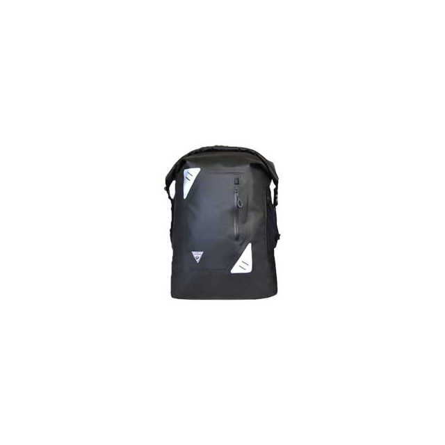 Seattle Sports - Central 25 Liter Waterproof Cycling Backpack - Black