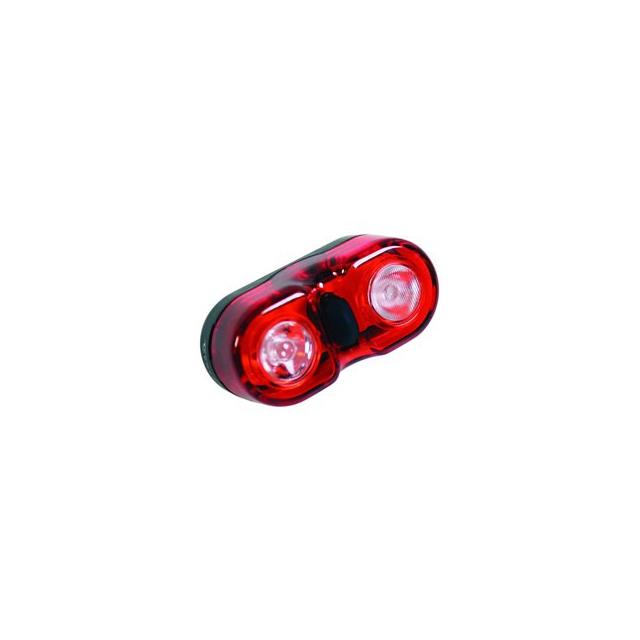 Serfas - Twin 1/2 Watt Tail Bike Light - Black