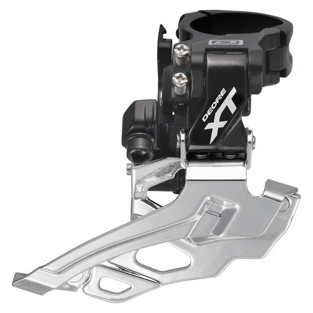 Shimano - Deore XT Dyna-Sys 10-Speed Double Front Derailleur (Down Swing, Clamp-On)