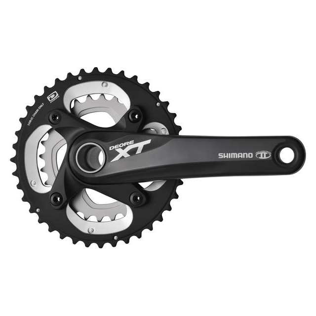 Shimano - Deore XT Dyna-Sys 10-speed 38/26 Crankset