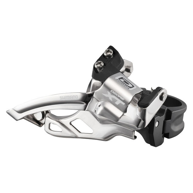 Shimano - Deore XT Dyna-Sys 10-Speed Double Front Derailleur (Top Swing, Clamp-On)