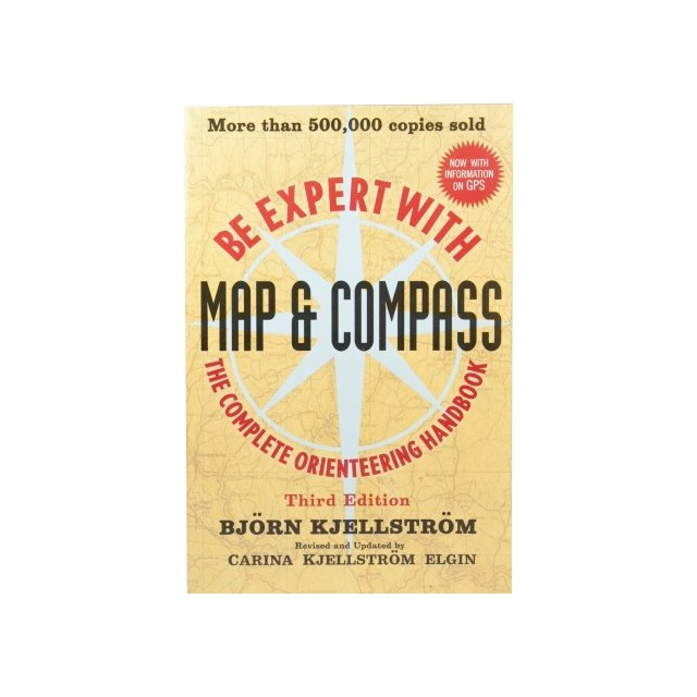 Partners/ West Book Dist., Inc - Be Expert with Map and Compass Book
