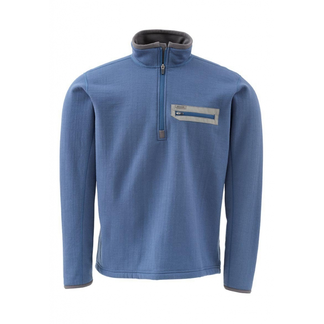 Simms - Montana TechWool Zip Top