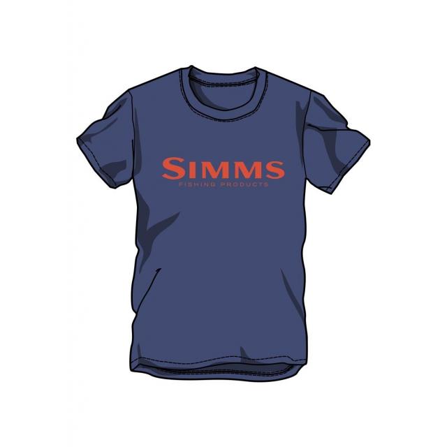 Simms - Men's Wordmark SS T
