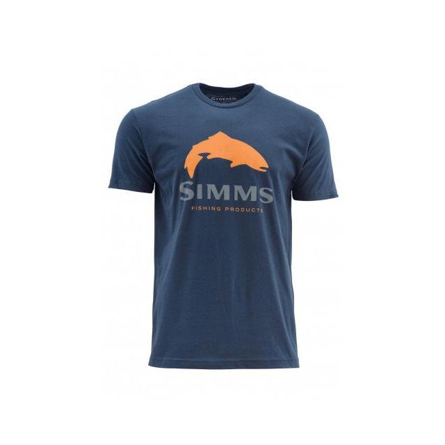 Simms - Trout Logo SS T