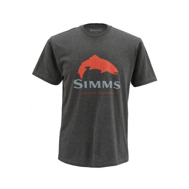 Simms - Men's Trout Logo SS T
