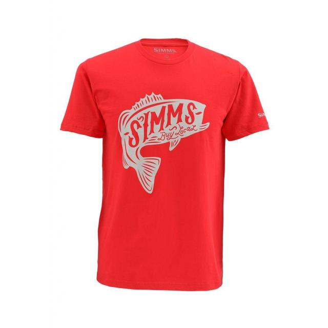 Simms - Men's Woodblock Bass SS T