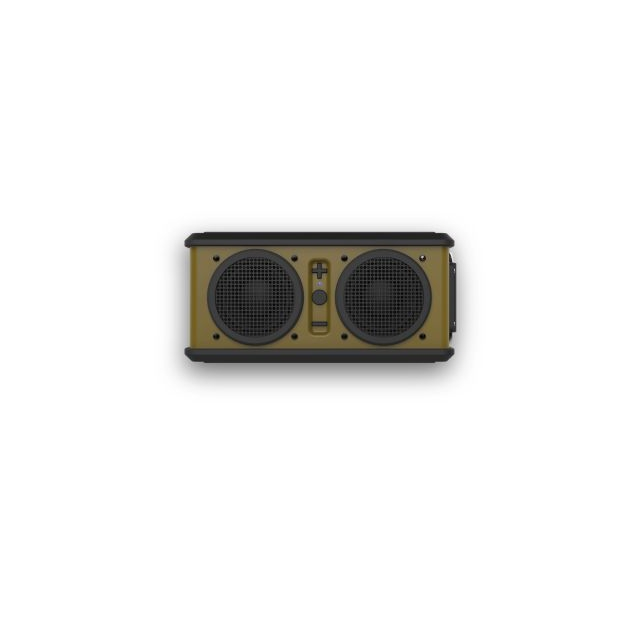 Skullcandy - - Air Raid Speaker - Olive Green/Black