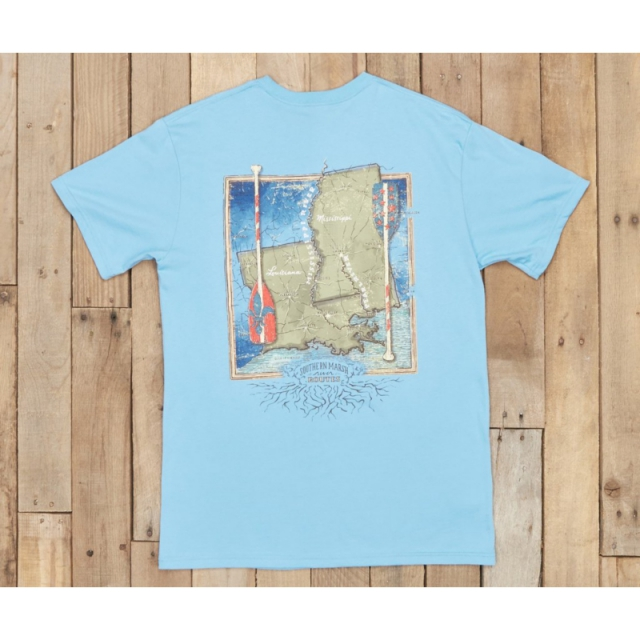 Southern Marsh - River Routes - Louisiana and Mississippi - New Breaker Blue