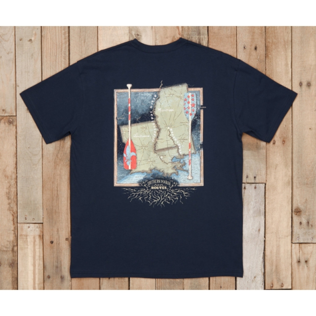 Southern Marsh - River Routes - Louisiana and Mississippi - New Navy