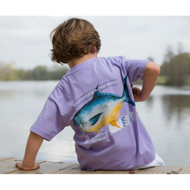 Southern Marsh - Youth Pompano - Sale Wharf Purple Small