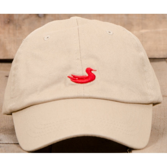 Southern Marsh - The  Hat - New Tan With Red Duck One Size
