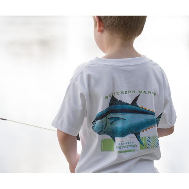 Southern Marsh - Youth Tuna - Closeout White Small