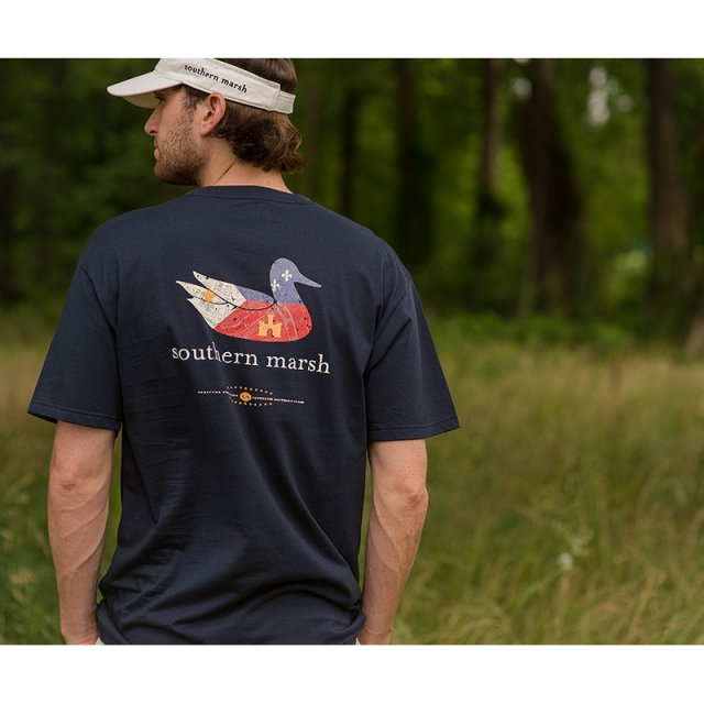 Southern Marsh - Mens Authenitic Heritage Louisiana - New Navy Small