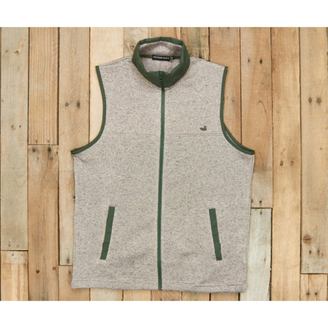 Southern Marsh - Mens Woodford Vest - New Light Gray Small