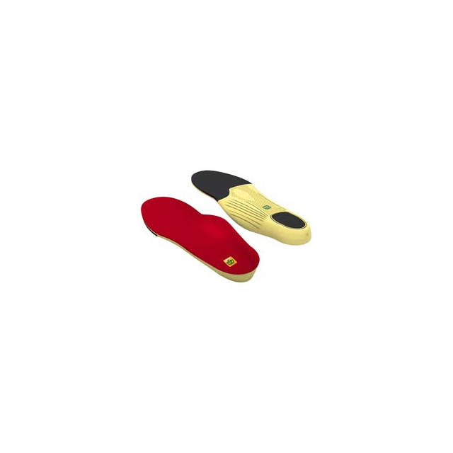 Spenco - Polysorb Walker/Runner Insole - Red In Size: 6