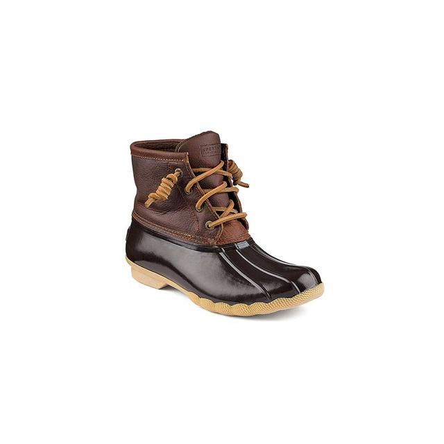 Sperry - Top-Sider Saltwater Boot - Women's-Dark Brown-5
