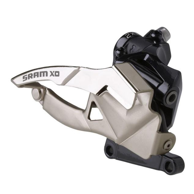 SRAM - X0 2x10 Front Derailleur<br>(High Direct-mount, Bottom-pull)