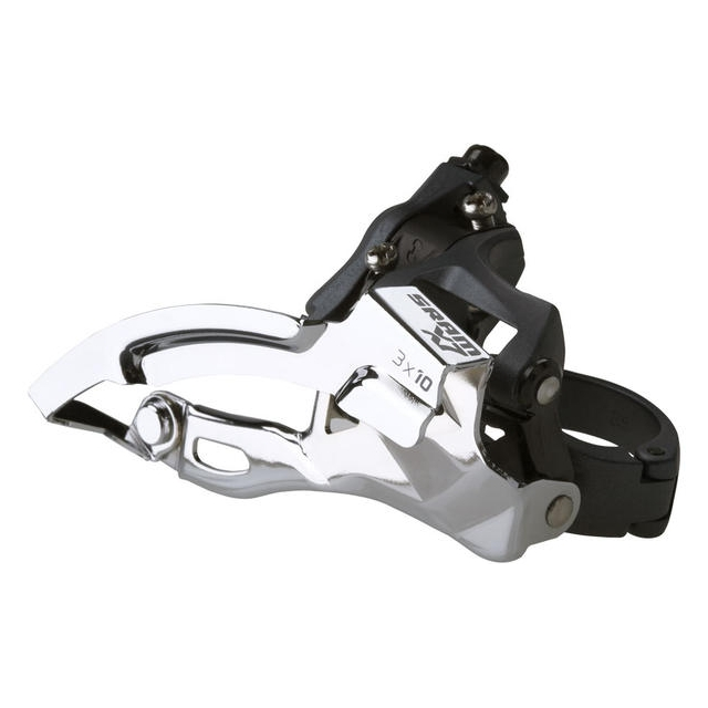 SRAM - X7 2x10 Front Derailleur<br>(High-clamp, Top-pull)