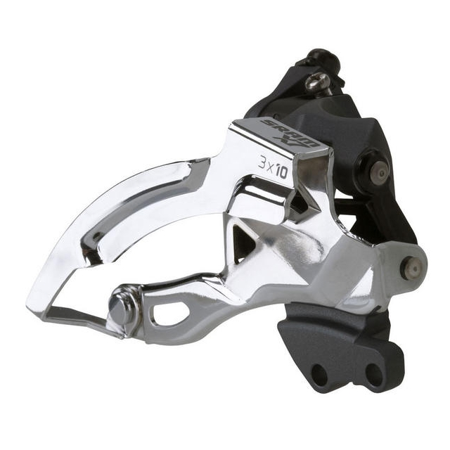 SRAM - X7 3x10 Front Derailleur<br>(High Direct-mount, Top-pull)