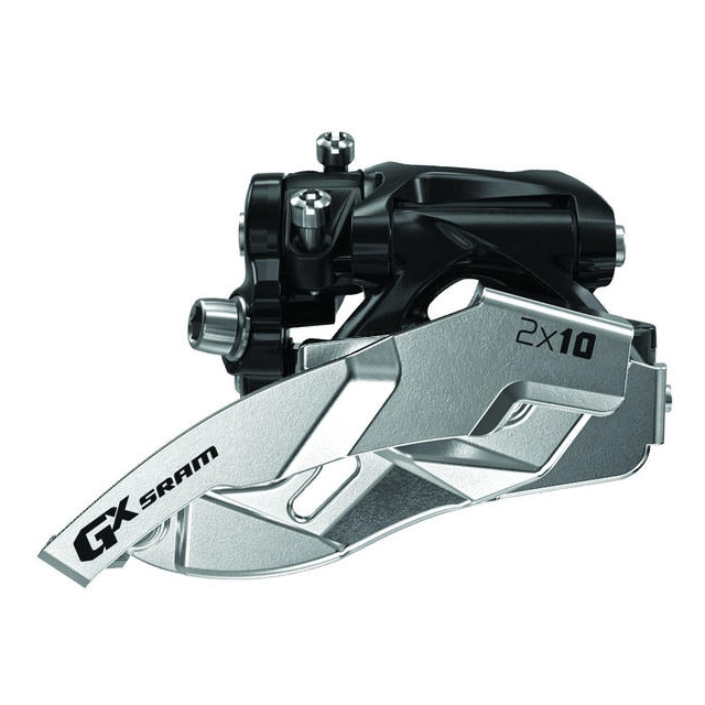 SRAM - GX 2x10 Front Derailleur<br>(Low Direct-mount, Dual-pull)