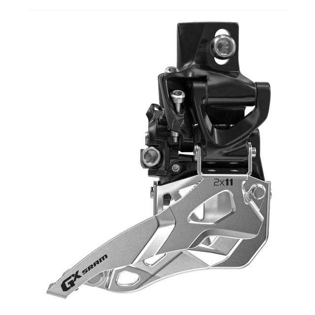 SRAM - GX 2x11 Front Derailleur<br>(High Direct-mount, Bottom-pull)
