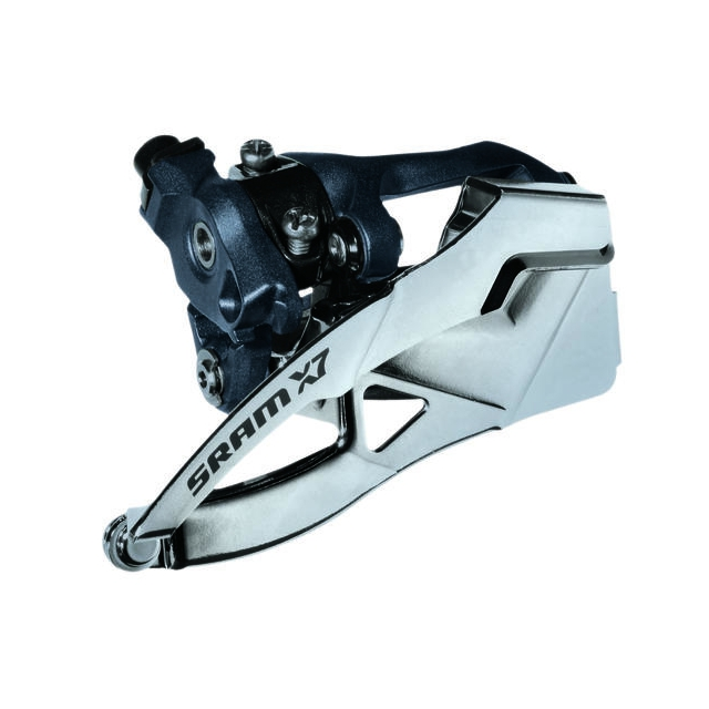 SRAM - X7 3x9 Front Derailleur<br>(High-clamp, Bottom-pull)