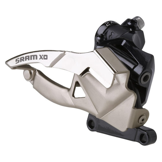 SRAM - X0 3x10 Front Derailleur<br>(High Direct-Mount, Top-pull) 38/36T
