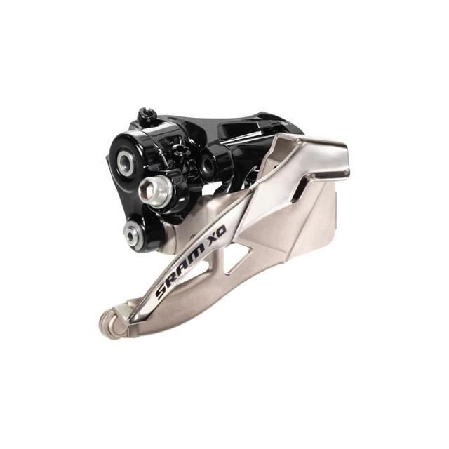 SRAM - X0 3x10 Front Derailleur<br>(High-clamp, Dual-pull)