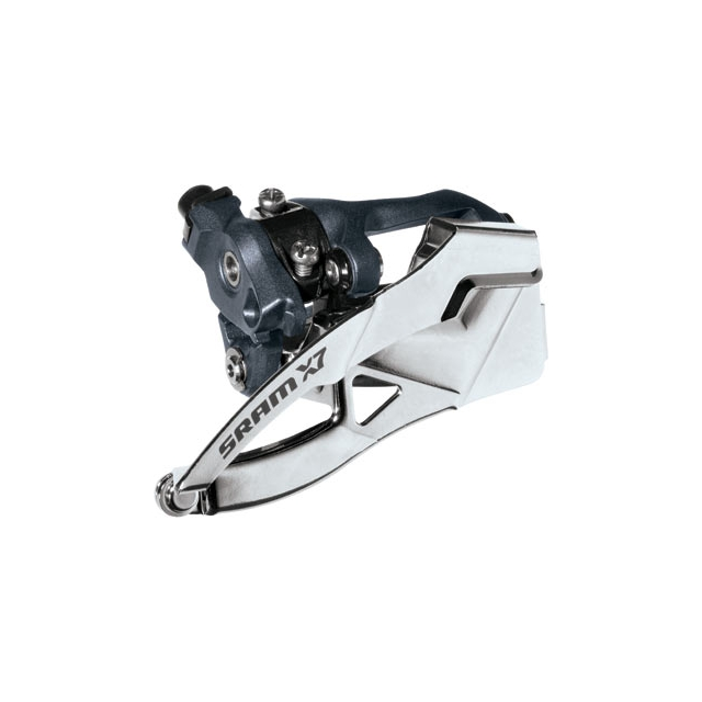 SRAM - X7 3x10 Front Derailleur<br>(High Direct-mount, Dual-pull)