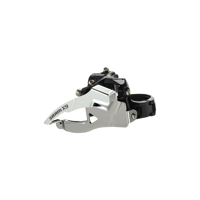 SRAM - X9 3x10 Front Derailleur<br>(Low-clamp, Bottom-pull)