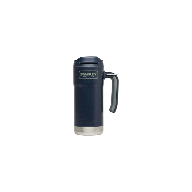 Stanley - Adventure Vacuum Travel Mug 16 oz. - Hammerstone Navy In Size: 16 oz