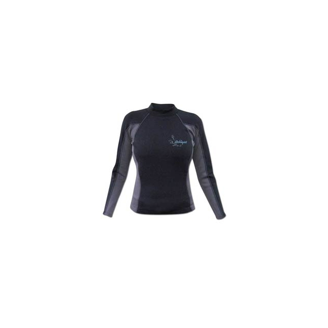 Stohlquist - 1mm Coreheater Shirt - Women's - Black In Size