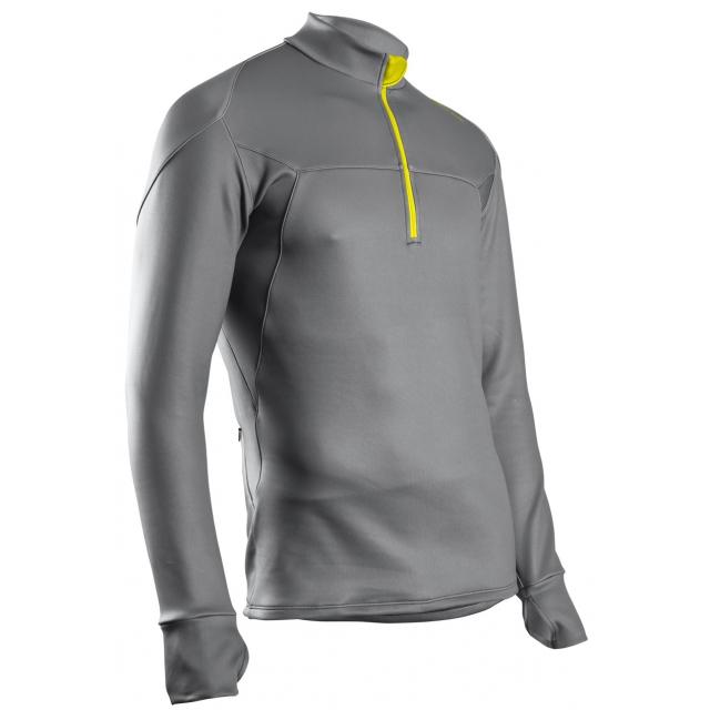 Sugoi - - ZeroPlus Zip Top - Small - Grey