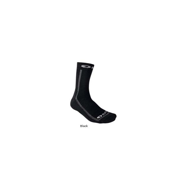 Sugoi - WallarooZ Crew Cycling Sock - Black In Size