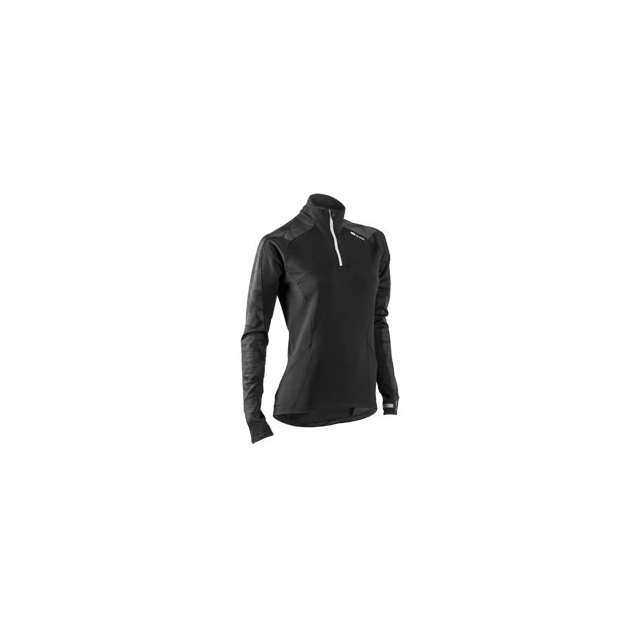 Sugoi - MidZero Zip Run Top - Women's - Black In Size: Medium